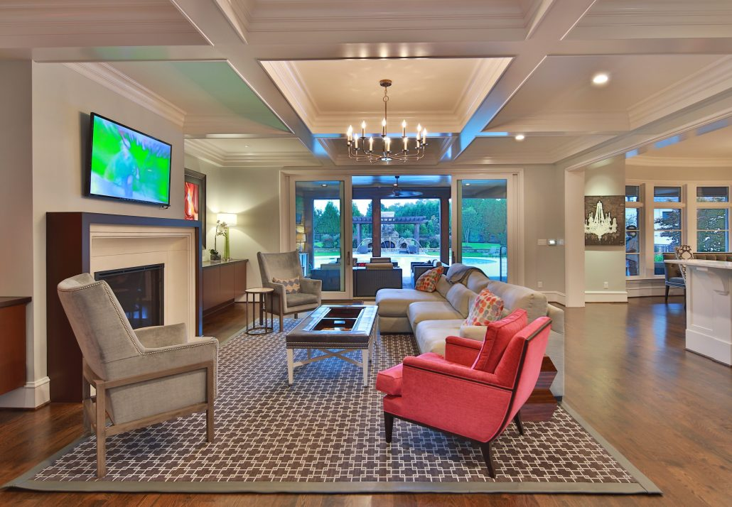 Rufty Homes: NC State - Chancellor's New Residence